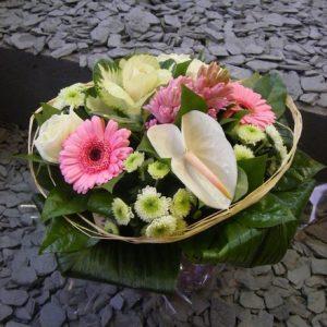 bouquet-rond-pastel-anthurium