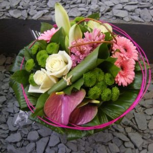 bouquet-rond-pastel-rose-micado