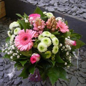 bouquet-rond-rose-simple