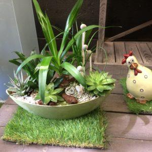 jardin zen vert 42€